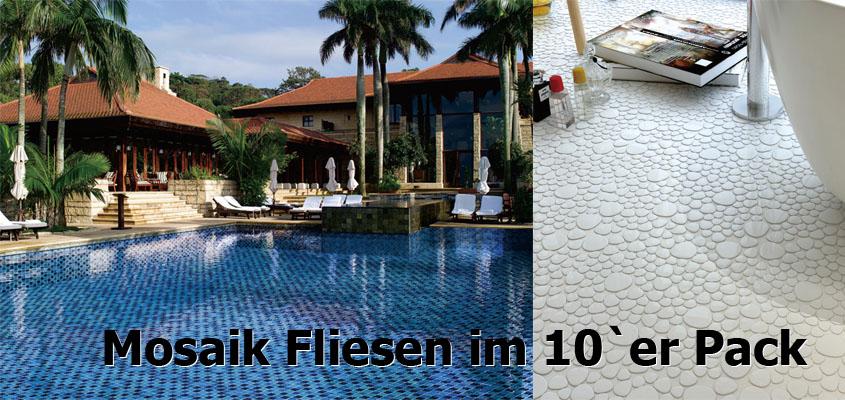 Mosaikfliesen 10er Pack