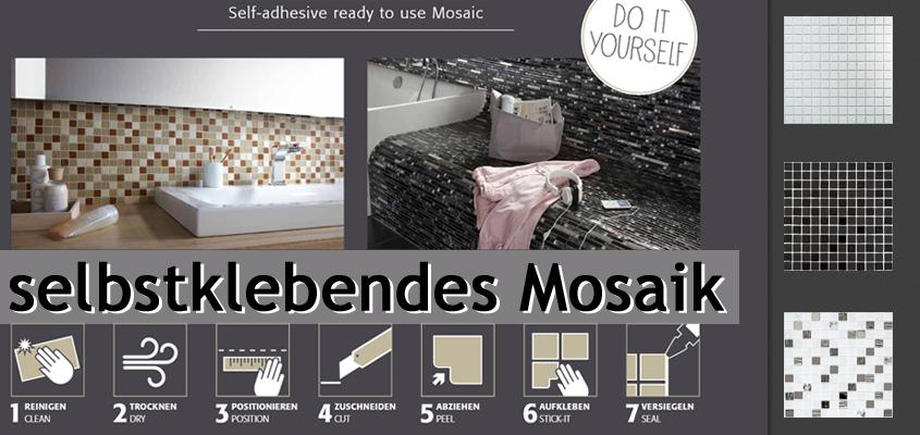 Selbstklebende Mosaike