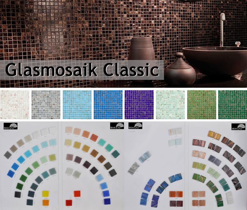 Glasmosaik Classic