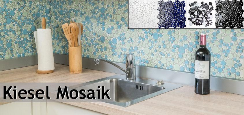 Keramik Mosaik Kiesel