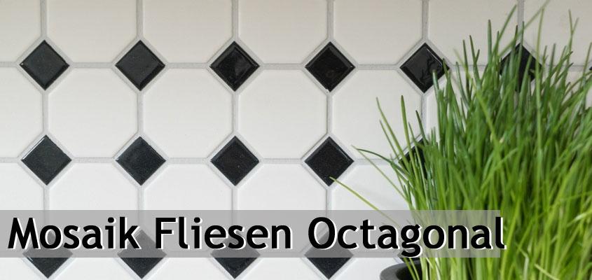 Keramik Mosaik Octagonal