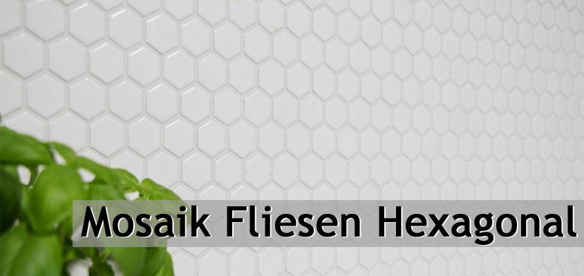 Keramik Mosaik Hexagonal