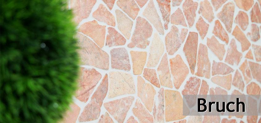 Marmor Bruch Mosaik