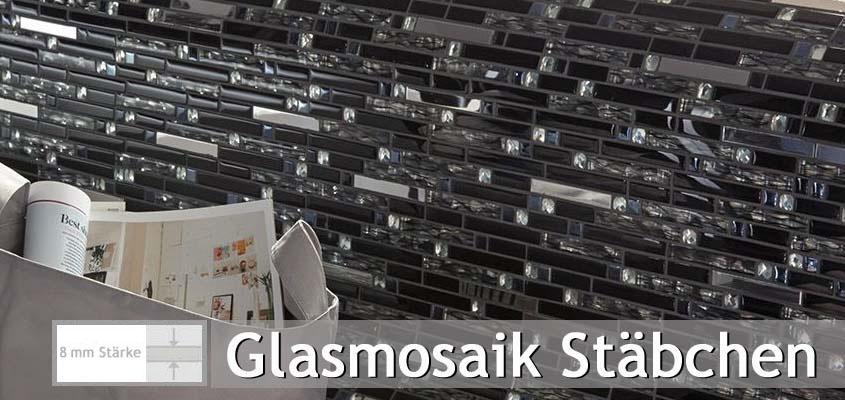Glasmosaik Stäbchen