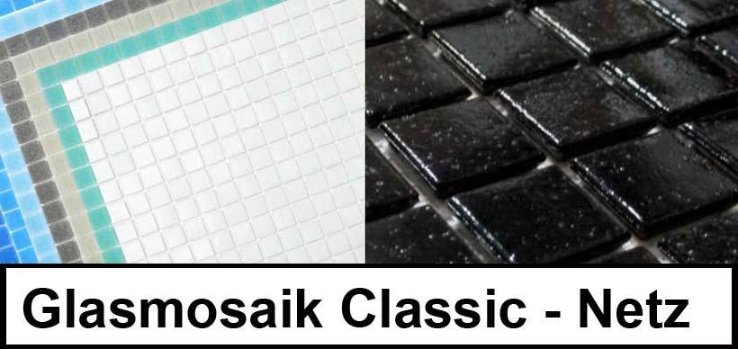 Glasmosaik Classic Uni