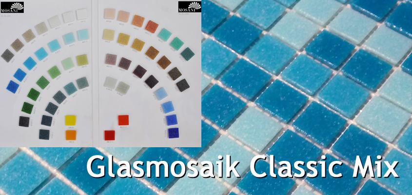 Glasmosaik Classic Mix