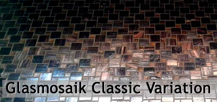 Glasmosaik Classic Variatione
