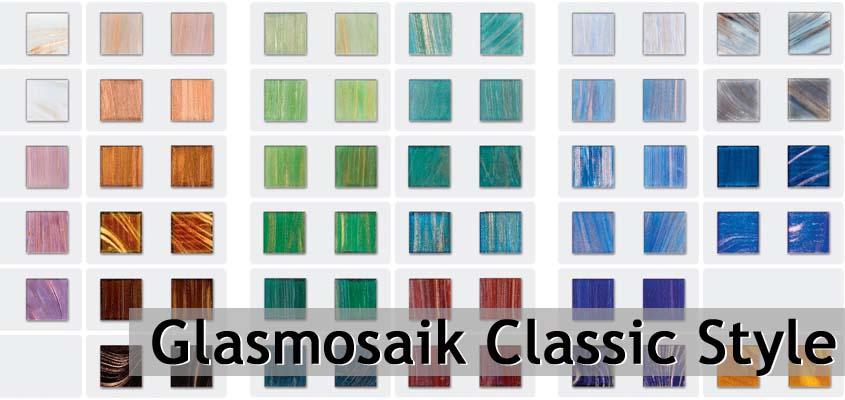 Glasmosaik Classic Style