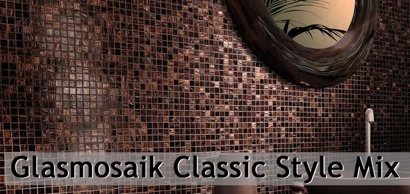 Glasmosaik Classic Style Mix
