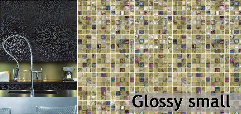Perlmutt Mosaik Glossy small