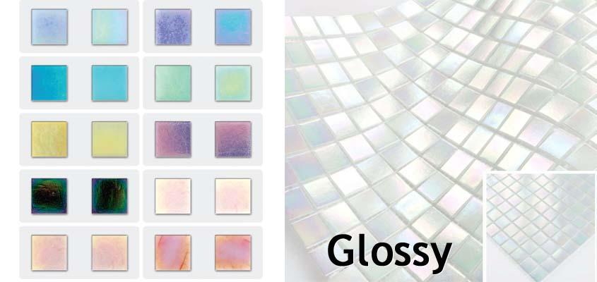 Perlmutt Mosaik Glossy