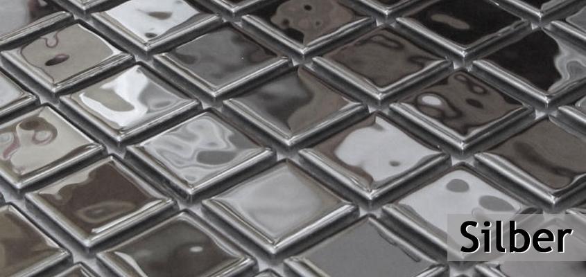 Silber Mosaik