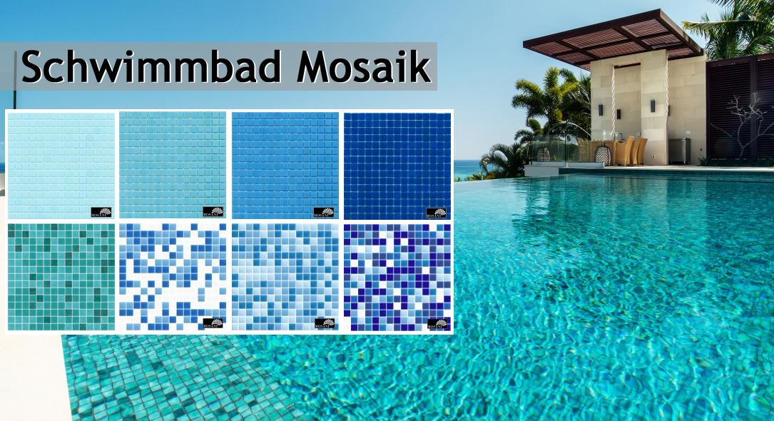 Schwimmbad Mosaik Pool