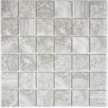 Mosaikfliese Naturstein Optik grau Struktur Badfliese Fliesenspiegel MOS16-0204