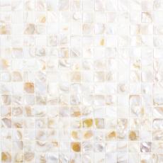 Mosaik Fliese Muschel hellbeige Wandfliesen Badfliese MOS150-SM203