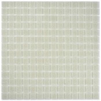 Mosaik Fliese Glas hellgrau MOS200-A05-N