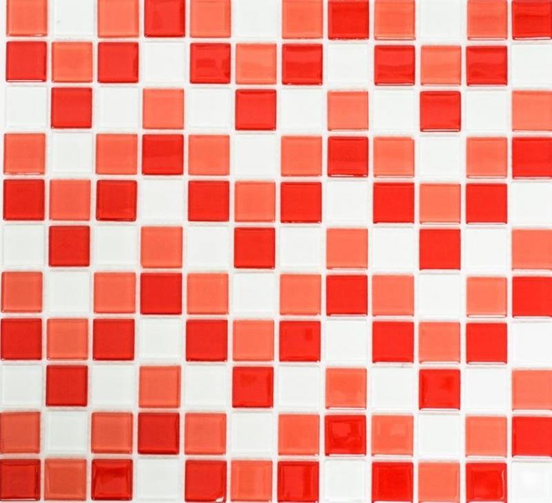 Mosaik Fliese Quarz Komposit Kunststein Brick Artificial rot MOS46-ASMB4/_m