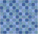 blau türkis Poolmosaikfliese RUTSCHEMMEND DUSCHTASSE BODENFLIESE MOS18-0404-R10_f
