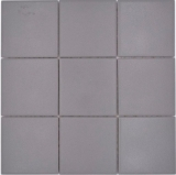 Mosaikfliese Keramik grau steingrau Duschtasse Bodenfliese MOS22-0204-R10_f
