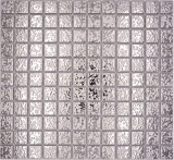 Mosaikfliese Keramikmosaik SILBER struktur Wand Fliesenspiegel Küche MOS18-0207_f