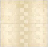 Mosaikfliese Selbstklebende Mosaike Kombi metall gold Küche Badezimmer MOS200-4G87