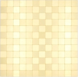 Mosaikfliese Selbstklebende Mosaike metall gold Küche Wand Bad MOS200-4G25