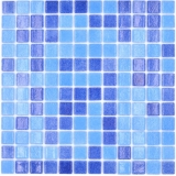 Mosaikfliese Poolmosaik Schwimmbadmosaik SPAIN mix 2C Badezimmer Dusche MOS220-1158U