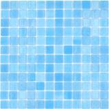 Mosaikfliese Poolmosaik Schwimmbadmosaik SPAIN türkis Badezimmer Dusche MOS220-501R