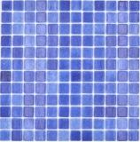 Mosaikfliese Poolmosaik Schwimmbadmosaik SPAIN dunkelblau antislip rutschsicher MOS220-508A