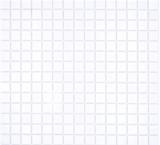 Mosaikfliese Glasmosaik Classic Uni Glas uni weiß papierverklebt Poolmosaik Schwimmbadmosaik MOS200-A01_f