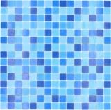 Mosaikfliese Glasmosaik Classic Mix Glas blau 5F papierverklebt Poolmosaik Schwimmbadmosaik MOS210-PA339_f