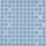 Mosaikfliese Selbstklebende Mosaike Crystal mix grau matt Fliesenspiegel Küche MOS200-4C18_f