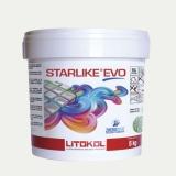 Litokol STARLIKE EVO 202 NATURALE alt weiss III Epoxidharz Kleber Fuge 5 Kg Eimer