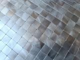 Handmuster Mosaikfliese Selbstklebende Mosaike metall Fliesenspiegel Wand Küche MOS200-4M15_m