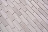 Handmuster Mosaikfliese Selbstklebende Mosaike Verbund Naturstein weiss wood grau Küche MOS200-4M72_m