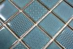 Mosaikfliese seladon grün BAD Pool Fliesenspiegel Küchenrückwand MOS16-0602_m