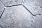 Mosaik Fliese Keramik grau Hexagon Zement Küche Fliese WC Badfliese MOS11F-0202_m