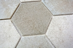 Mosaik Fliese Keramik grau Hexagon Zement Küche Fliese WC Badfliese MOS11F-0204_m
