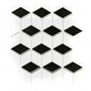 Mosaik Fliese Keramik 3D Würfel weiß schwarz matt Wandfliesen Badfliese MOS13-OV09_f | 10 Mosaikmatten