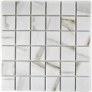 Mosaik Fliese Keramik weiß Calacatta MOS14-0112