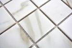 Mosaikfliese Calacatta weiß beige Keramik Feinsteinzeug Fliesenspiegel MOS14-0112_m