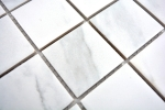 Mosaikfliese Carrara weiß grau Keramik Badfliese Fliesenspiegel Küche MOS14-0102_m