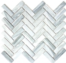 Mosaik Fliese Keramik Fischgrät Steinoptik grau Duschrückwand Fliesenspiegel  MOS24-SO32_f | 10 Mosaikmatten