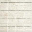 Mosaik Fliese Keramik Stäbchen Steinoptik hellbeige Fliesenspiegel Küche MOS24-STSO45_f | 10 Mosaikmatten