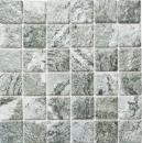 Mosaikfliese Natursteinoptik grau Struktur Badfliese Fliesenspiegel MOS16-HWA4GY_f | 10 Mosaikmatten