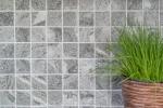 Mosaikfliese Natursteinoptik grau Struktur Badfliese Fliesenspiegel MOS16-HWA4GY_m