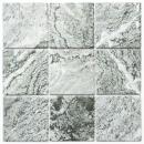 Mosaik Fliese Keramik Steinoptik Struktur grau Fliesenspiegel Küche MOS22-HWA9GY_f | 10 Mosaikmatten