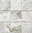 Mosaik Fliese Keramik Steinoptik Struktur hellgrau Fliesenspiegel Küche MOS22-HWA9LG