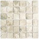 Mosaik Fliese Keramik Steinoptik sandbraun MOS16-AISO89