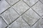 Mosaikfliese Naturstein Optik grau Struktur Badfliese Fliesenspiegel MOS16-0204_m